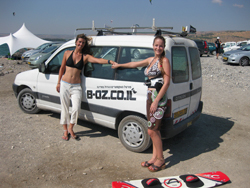 Kiteboarding at Israel