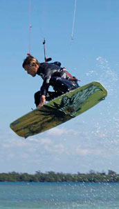 Tropical Paradise Kitesurfing News February 09